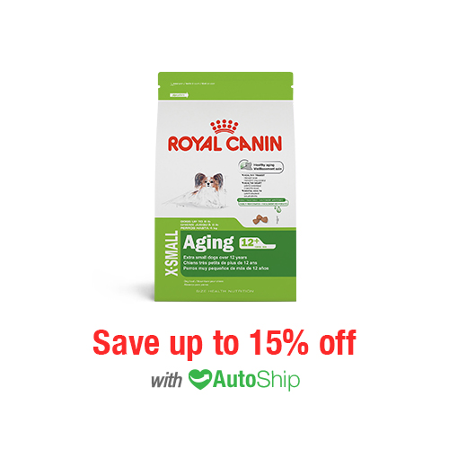 Royal Canin Size Health Nutrition X-SMALL Aging 12+ Dry