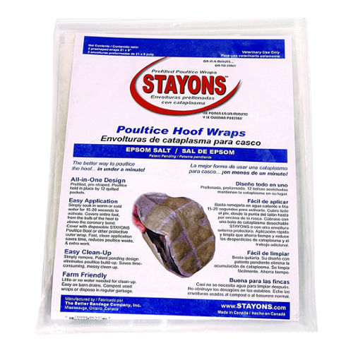 Stayons® Hoof Wraps - Epsom Salt for Horses