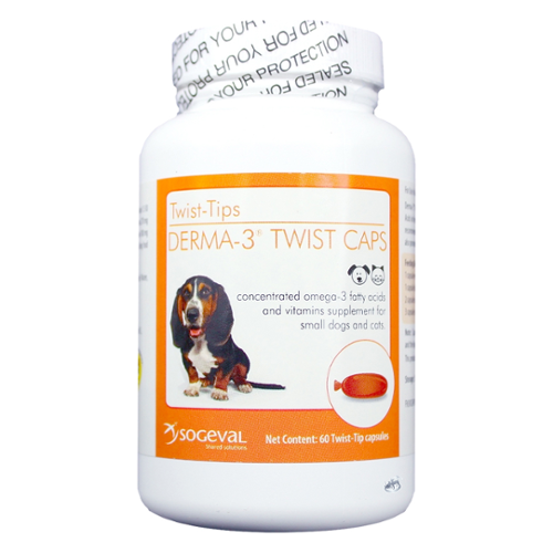 Derma-3® Twist Caps for Dogs and Cats