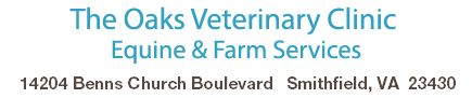 The Oaks Veterinary Clinic Equine & Farm Services