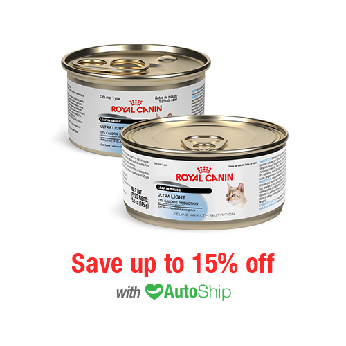 Royal Canin Feline Health Nutrition Ultra Light Cans
