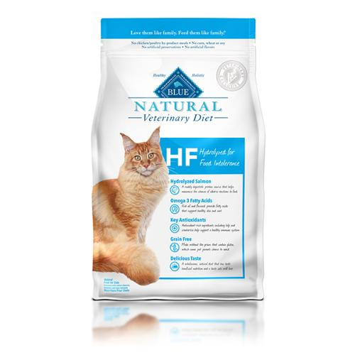 BLUE Naturals Veterinary Diet™ Cat HF Hydrolyzed for Food Intolerance Dry