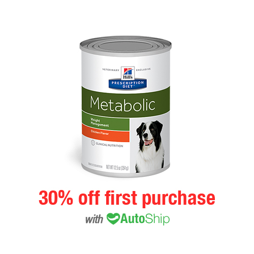 Hill's® Prescription Diet® Dog Metabolic Weight Management Cans