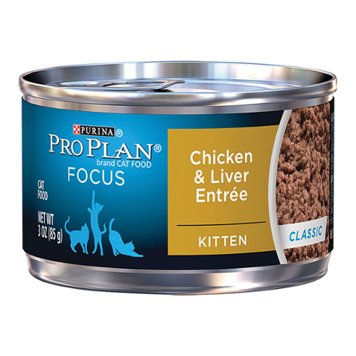 Purina® Pro Plan® Focus Kitten Chicken & Liver Entree Cans