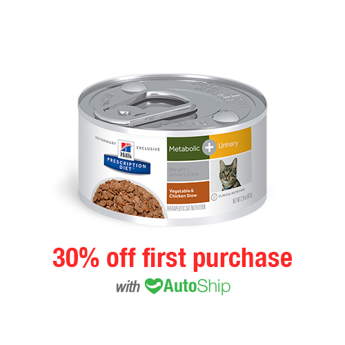 Hill's® Prescription Diet® Cat Metabolic + Urinary Cans