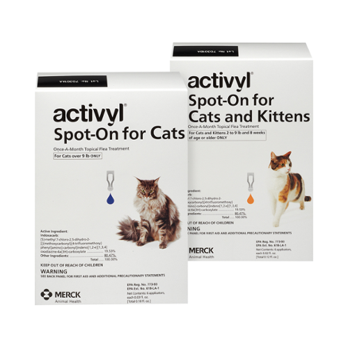 Activyl®  Spot-On For Cats and Kittens