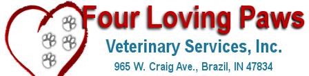 Four Loving Paws Veterinary Services