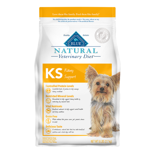 BLUE Naturals Veterinary Diet™ Dog KS Kidney Support Dry