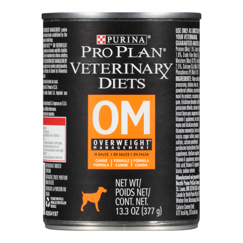 Purina® Pro Plan® Veterinary Diets Dog OM Overweight Management® Canned