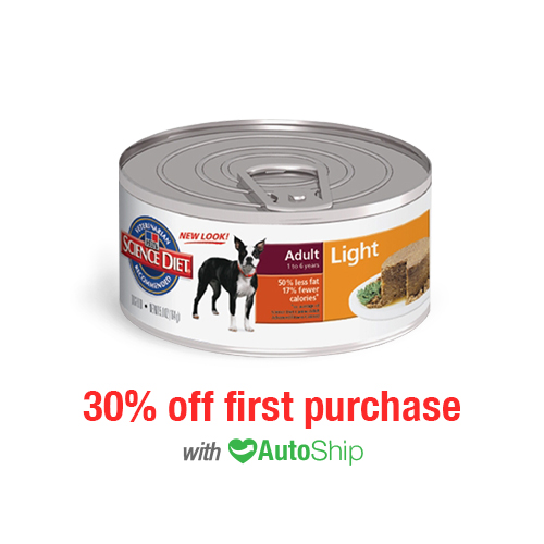 Hill's® Science Diet® Dog Adult Light Canned