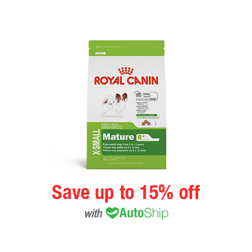 Royal Canin Size Health Nutrition X-SMALL Mature 8+ Dry