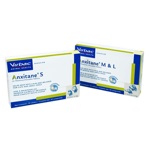 Anxitane® Chew Tabs Small Dogs & Cats 50mg 30ct