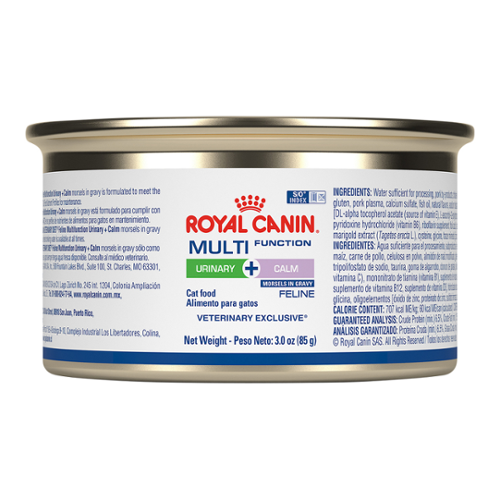 Royal Canin Multifunction Urinary + Calm Morsels in Gravy Can for Cats