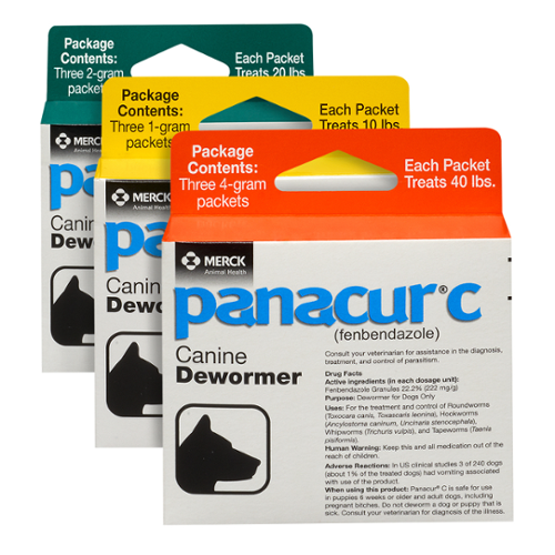 Panacur® C Dog Granules