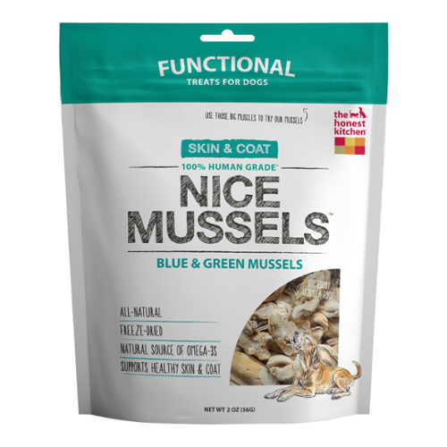 The Honest Kitchen® Nice Mussels Treats for Dogs