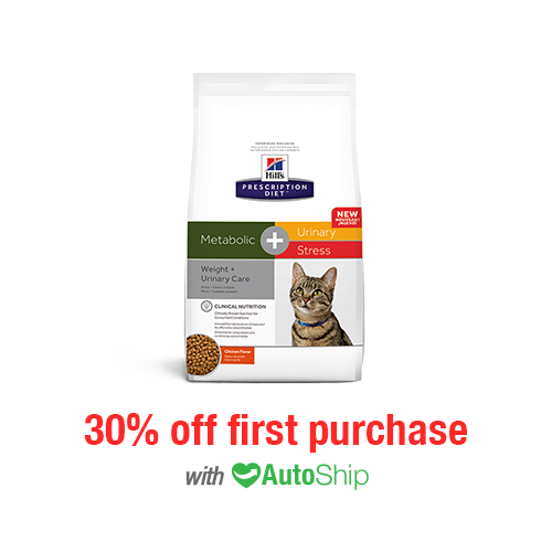 Hill's® Prescription Diet® Cat Metabolic + Urinary Stress Dry