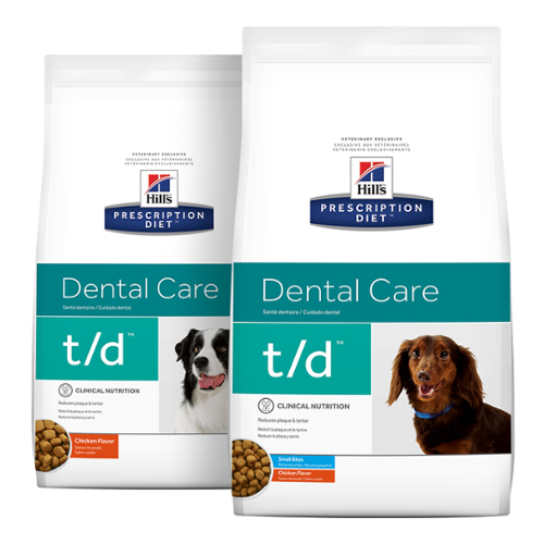 Hill's Prescription Diet® Dog t/d® Dry