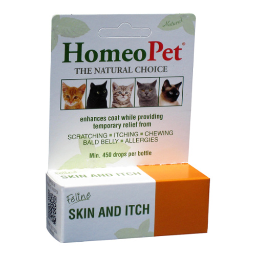 HomeoPet® Feline Skin and Itch Relief