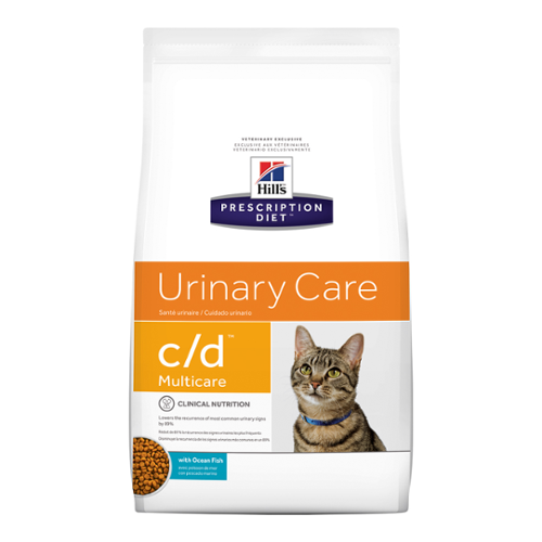 Hill's® Prescription Diet® Cat c/d® Multicare with Chicken 17.6lb bag