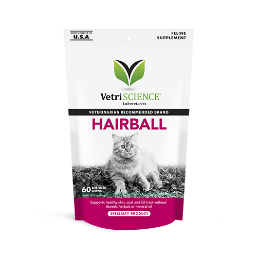 VetriScience® Feline Furball Plus Bite-Sized Chews
