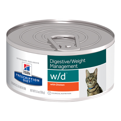Hill's Prescription Diet® Cat w/d® Minced Chicken Canned