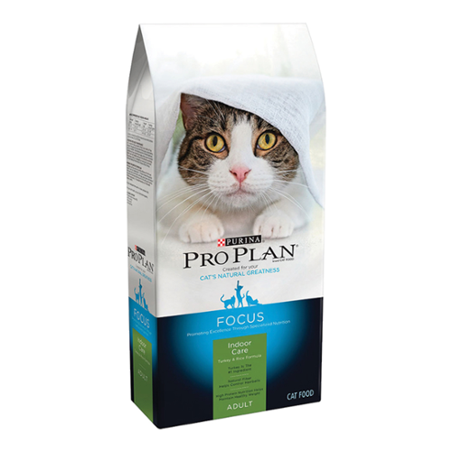 Purina® Pro Plan® Focus Adult Cat Indoor Care Turkey & Rice Formula Dry