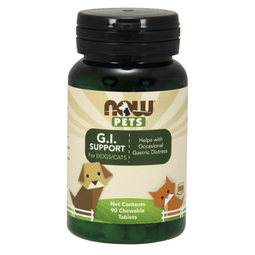 NOW® Pets G.I. Support Chewable Tablets for Dogs/Cats