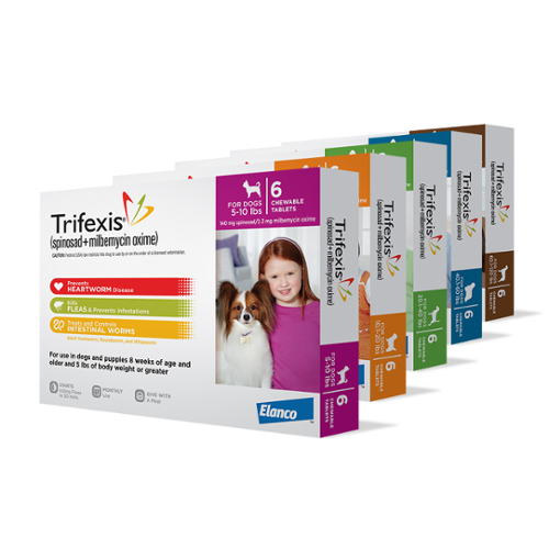 Trifexis® Tablets for Dogs