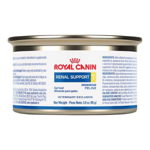 Royal Canin Renal Support T™ Morsels in Gravy Can for Cats