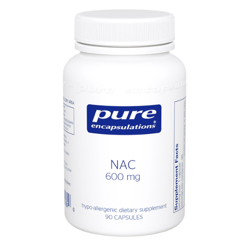 Pure Encapsulations® NAC (n-acetyl-l-cysteine) Capsules