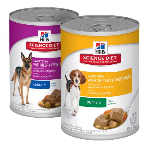 Hill's Science Diet® Dog Savory Stew
