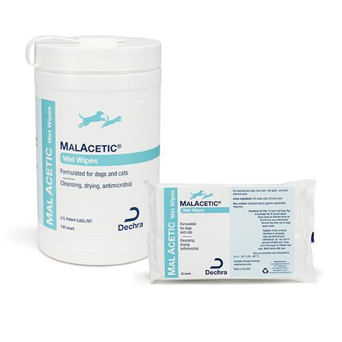 MalAcetic® Wet Wipes