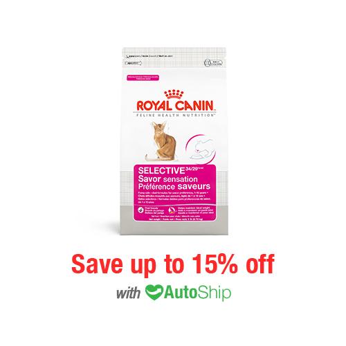 Royal Canin Feline Health Nutrition Selective Savor Sensation Dry