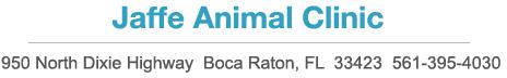 Jaffe Animal Clinic
