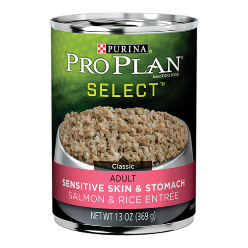 Purina® Pro Plan® Focus Adult Dog Classic Salmon & Rice Entree Sensitive Skin and Stomach Formula Cans