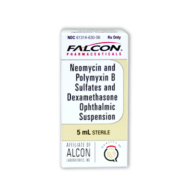 Neomycin Polymyxin Dexamethasone Ophthalmic Suspension