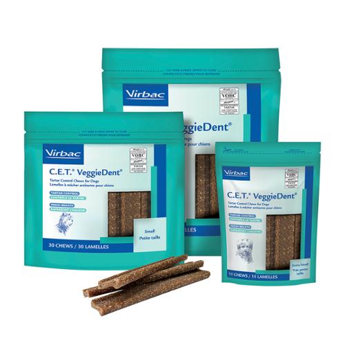 C.E.T.® VeggieDent™ Chews for Dogs