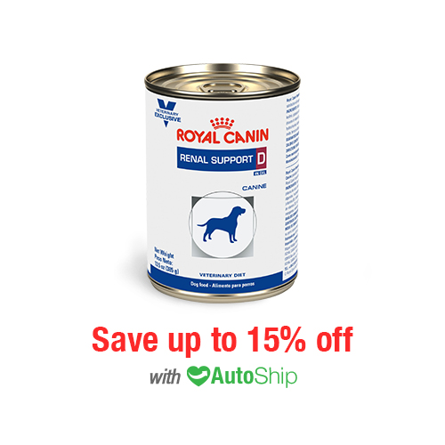 Royal Canin Renal Support D™ Morsels in Gravy Can for Dogs