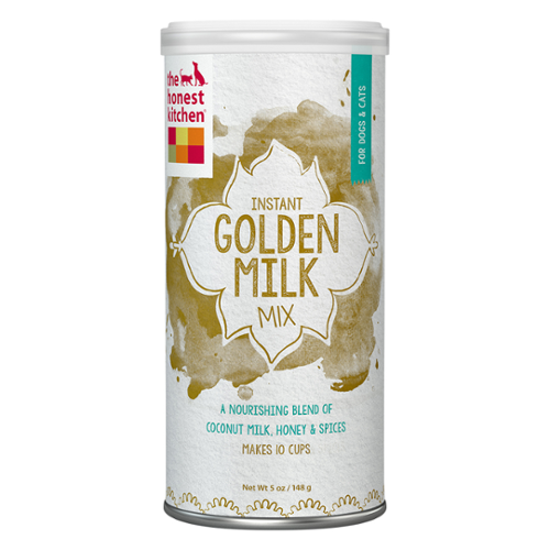The Honest Kitchen® GOLDEN MILK Organic Coconut Milk with Honey & Spices for Cats & Dogs