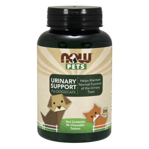 NOW® Pets Urinary Support Chewable Tablets for Dogs/Cats