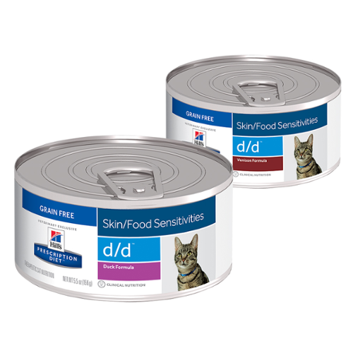 Hill's Prescription Diet® Cat d/d® Canned