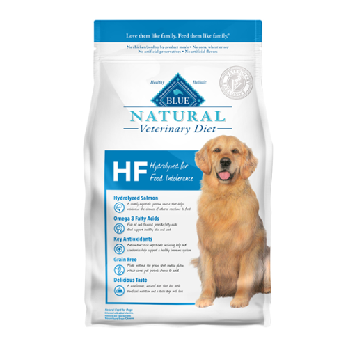 BLUE Naturals Veterinary Diet™ Dog HF Hydrolyzed for Food Intolerance Dry
