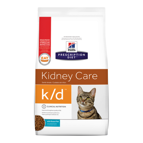 Hill's Prescription Diet® Cat k/d® with Ocean Fish Dry