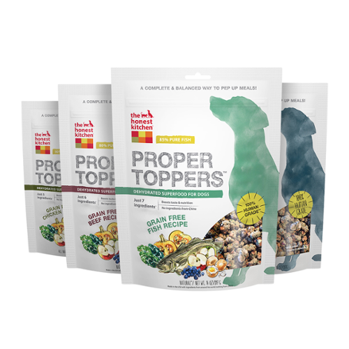 The Honest Kitchen® Proper Toppers Dehydated Grain-Free Food Toppers for Dogs