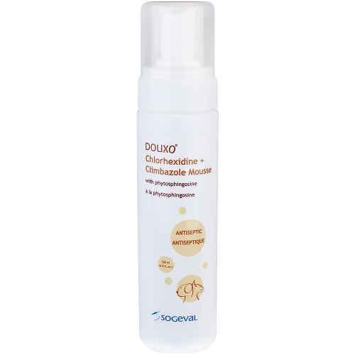 DOUXO® Chlorhexidine PS + Climbazole Mousse (Orange)