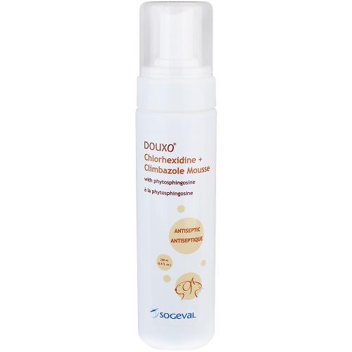DOUXO® Chlorhexidine PS + Climbazole Mousse (Orange)
