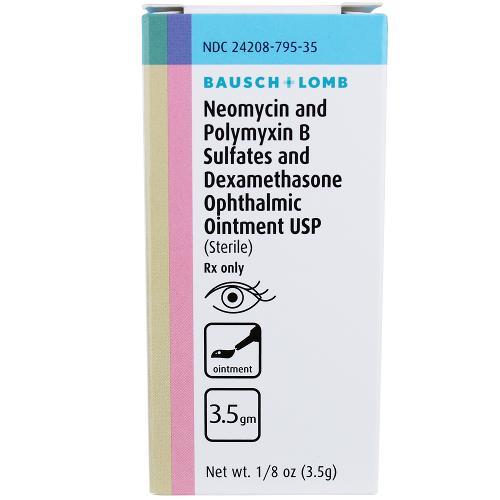 Neomycin Polymyxin Dexamethasone Ophthalmic Ointment