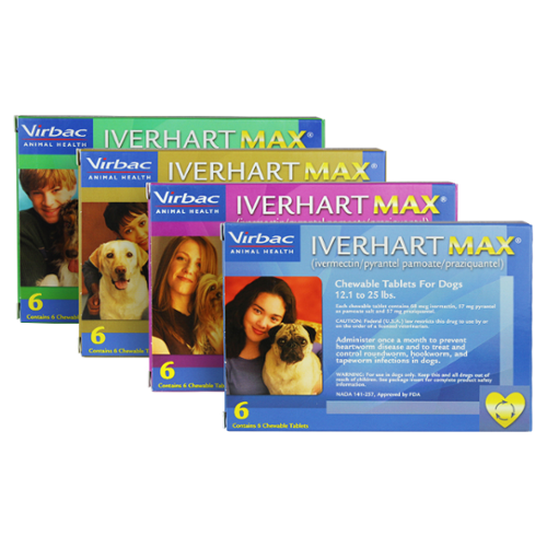 Iverhart Max® Chewable Tablets 50.1-100lbs 1 dose