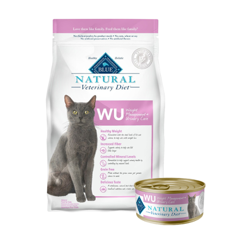 BLUE Naturals Veterinary Diet™ Cat WU Weight Management + Urinary Care