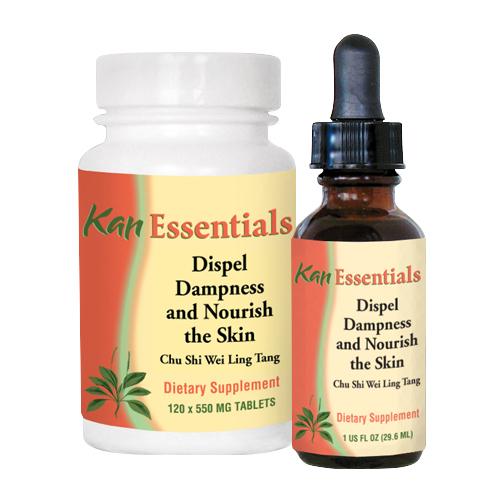Dispel Dampness & Nourish the Skin Chinese Herbal